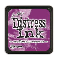 Ranger Distress Mini Ink Pad Seedless Preserve by Tim Holtz