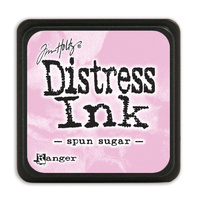 Ranger Distress Mini Ink Pad Spun Sugar by Tim Holtz