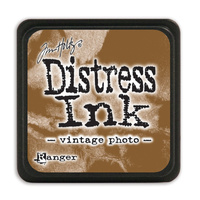 Ranger Distress Mini Ink Pad Vintage Photo by Tim Holtz