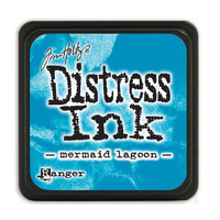 Ranger Distress Mini Ink Pad Mermaid Lagoon by Tim Holtz