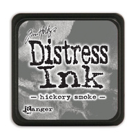 Ranger Distress Mini Ink Pad Hickory Smoke by Tim Holtz