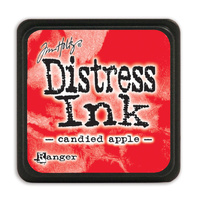 Ranger Distress Mini Ink Pad Candied Apple by Tim Holtz