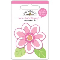 Doodlebug DoodlePops 3D Sticker Spring Things Dainty Daisy