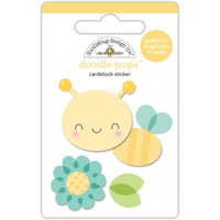 Doodlebug DoodlePops 3D Sticker Spring Things Honey Bee