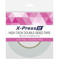 X-Press It High Tack Double Sided Tape 3mmx25m