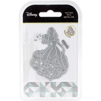 Disney Beauty & The Beast Die & Face Stamp Set Waltzing Belle