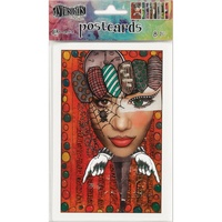 "Dylusions Postcard Images 4x6"" Set #2 by Dyan Reaveley"
