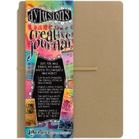 "Dylusions Creative Journal Kraft 11.75""x9"" 64pg by Dyan Reaveley"