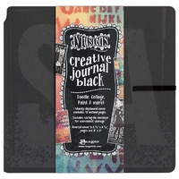 "Dylusions Creative Journal Square Black 8.75x9"" 48pg by Dyan Reaveley"