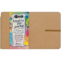 "Dylusions Creative Flip Journal 8.5x5.5"" Kraft by Dyan Reaveley"