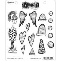 Dylusions Stamp Love Struck