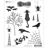 Dylusions Stamp Bits & Bats