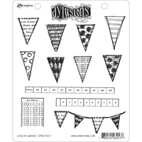 Dylusions Stamp Bags Of Bunting