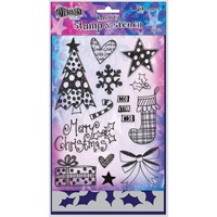 Dylusions Stamp & Stencil Set Stocking Filler by Dyan Reaveley