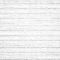 "Ella & Viv 12x12"" Single Sided Cardstock Backgrounds White Brick Wall"