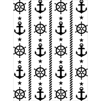 Darice Embossing Folder A2 Nautical