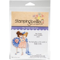 Stamping Bella Tiny Townie Cling Stamp Huggy Friend