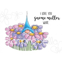 Stamping Bella Cling Stamp Gnome Bouquet