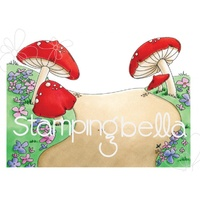 Stamping Bella Cling Stamp Gnome Backdrop