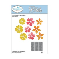 Elizabeth Craft Designs Die Bunch of Flowers #4 by Els van de Burgt Studio