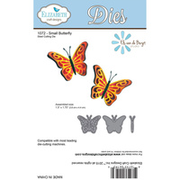 Elizabeth Craft Designs Die Small Butterfly by Els van de Burgt Studio