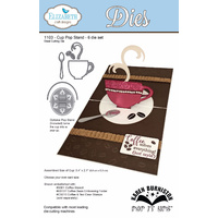 Elizabeth Craft Designs Die Cup Pop Stand Card (6 Piece) by Karen Burniston
