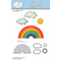 Elizabeth Craft Designs Die Rainbow Sky (5 Piece) by Joset Designs