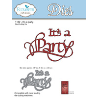 Elizabeth Craft Designs Die A Way With Words It's a Party by Suzannne Cannon