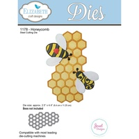 Elizabeth Craft Designs Die Honeycomb by Joset Designs