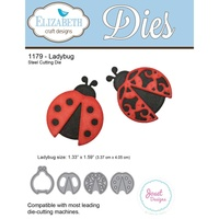 Elizabeth Craft Designs Die Ladybug by Joset Designs