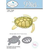Elizabeth Craft Designs Die Turtle by Joset Designs