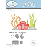 Elizabeth Craft Designs Die Seaweed by Joset Designs