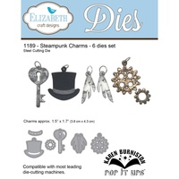Elizabeth Craft Designs Die Steampunk Charms by Joset Designs