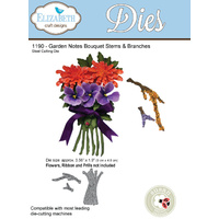 Elizabeth Craft Designs Die Garden Notes Bouquet Stems & Branches by Susan Tierney