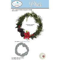 Elizabeth Craft Designs Die Garden Notes Evergreen Wreath by Susan Tierney Cockburn