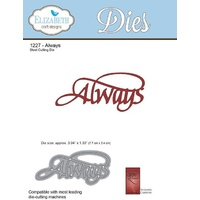 Elizabeth Craft Designs Die A Way With Words Always by Suzanne Cannon