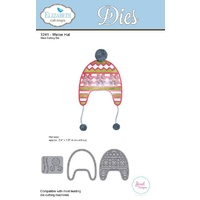 Elizabeth Craft Designs Die Winter Hat by Joset Designs