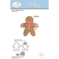 Elizabeth Craft Designs Die Gingerbread Man by Joset Designs
