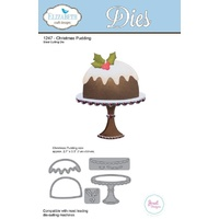 Elizabeth Craft Designs Die Christmas Pudding by Joset Designs