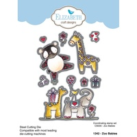 Elizabeth Craft Designs Die Zoo Babies by Krista Schneider