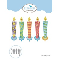 Elizabeth Craft Designs Die Birthday Candles by Joset Designs
