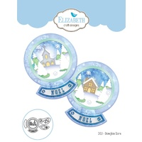 Elizabeth Craft Designs Die Snowglobe Scene by Becky