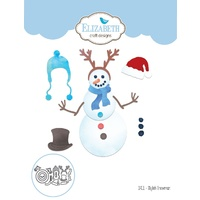 Elizabeth Craft Designs Die Stylish Snowman by Becky