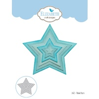 Elizabeth Craft Designs Die Fitted Stars by Joset Designs