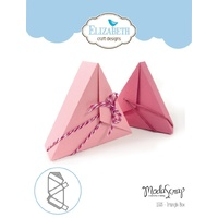 Elizabeth Craft Designs Die Triangle Box by Modascrap