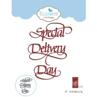 Elizabeth Craft Designs A Way with Words Die Special Delivery / Day