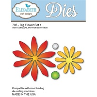Elizabeth Craft Designs Die Big Flower Set 1 by Els van de Burgt Studio