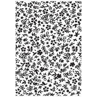 "Kaisercraft Embossing Folder 4x6"" Little Floral"