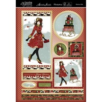 Hunkydory A4 Topper Set Festive Elegance Glorious Gifts