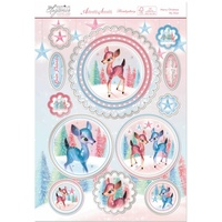 Hunkydory A4 Topper Set Festive Elegance Merry Christmas My Dear